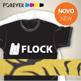 Vinil Têxtil Forever Flock